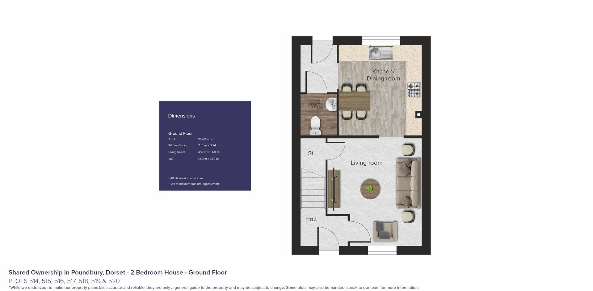 Shared Ownership in Poundbury, Dorset_Plots 514, 5